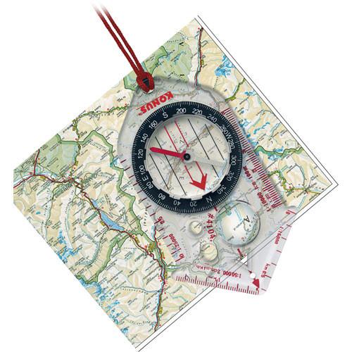 Konus Pilota-K Cartographic Compass with 4 Scales