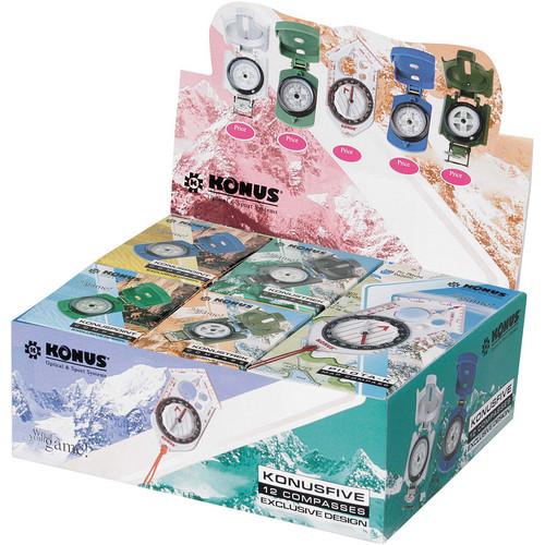 Konus Konusfive 12 Assorted Compasses