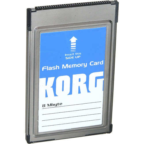 Korg FMC-8MB - Flash ROM Card