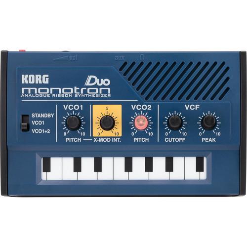Korg monotron DUO Dual Oscillator Ribbon Synthesizer