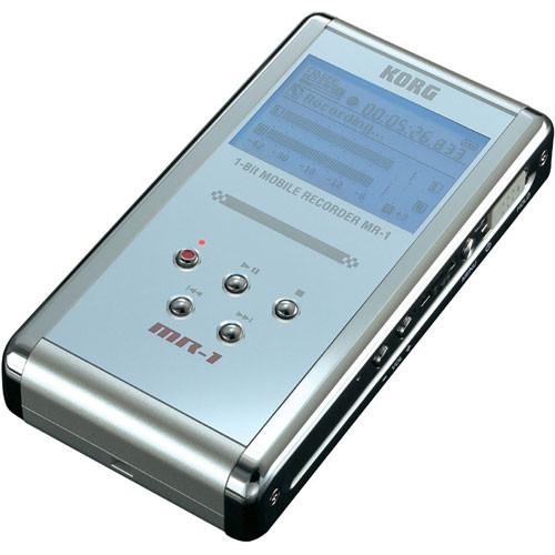 Korg MR-1 - 1-Bit Hand-Held Digital Audio Recorder