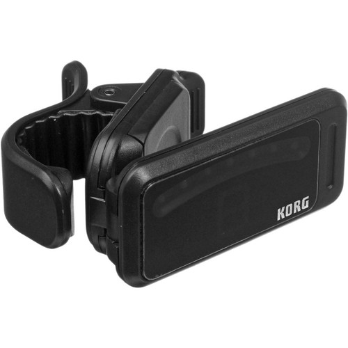 Korg Pitchclip Clip-On Tuner for Guitar/Bass (Black, Limited Edition Packaging)