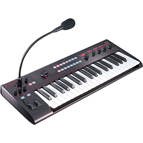 Korg R3 37-Key Analog Sythesizer with Vocoder