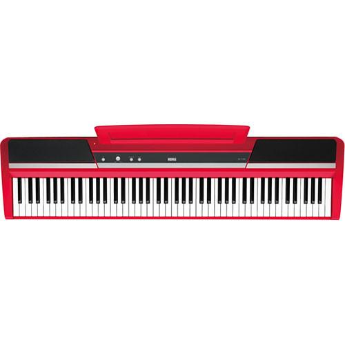 korg sp 170s 88 key digital piano limited edition red sp170srd. Black Bedroom Furniture Sets. Home Design Ideas