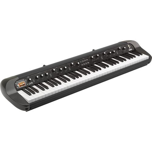 Korg SV-1 73-Key Vintage Stage Piano (Black)