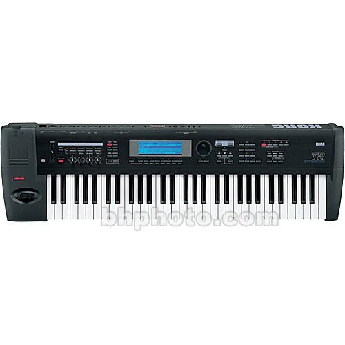 Korg TR-61 - 61-Key Workstation/Controller Keyboard