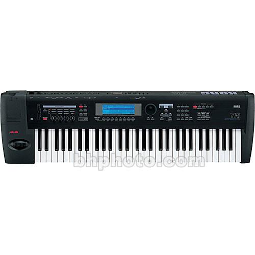 korg tr 76 76 key workstation controller keyboard tr76 b h. Black Bedroom Furniture Sets. Home Design Ideas