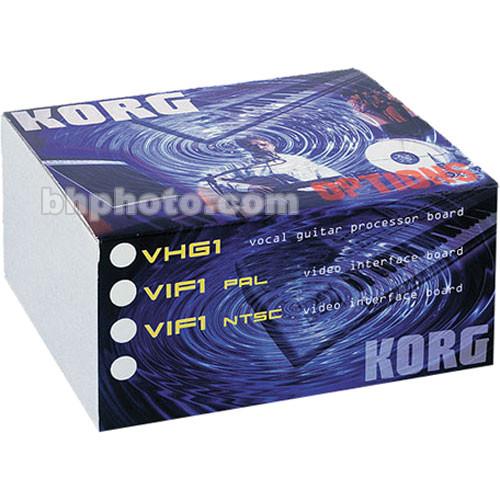 Korg VHG1 - Vocal/Guitar Processor Board Option
