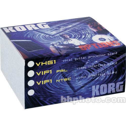 Korg VIF3 - PAL and NTSC Video Interfaces and Guitar Expansion Board