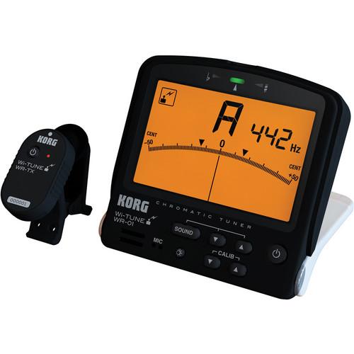 Korg WR-01S Wi-Tune - Wireless Tuner