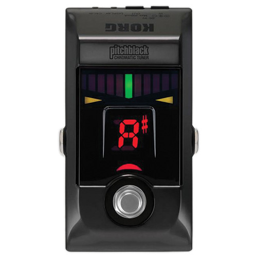 Korg Pitchblack Chromatic Pedal Tuner (Limited Edition Black Chrome)