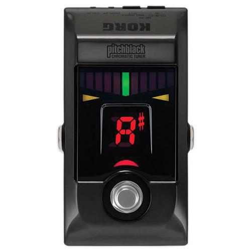 Korg Pitchblack Chromatic Pedal Tuner (Limited Edition Black Chrome)