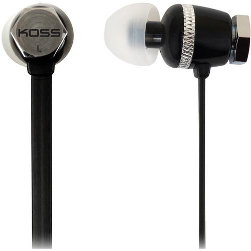Koss RUK30 Rukus Series In-Ear Headphones (Black)