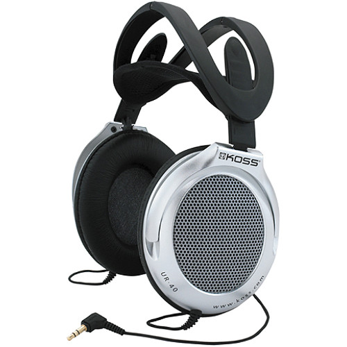 Koss UR40 Collapsible Stereo Headphones