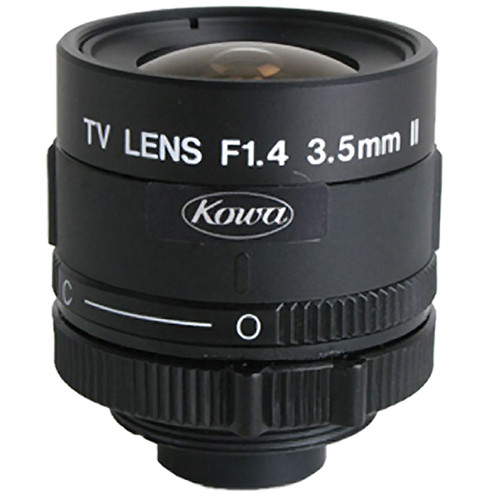 Kowa LM4NCR C-Mount 3.5mm Fixed Lens