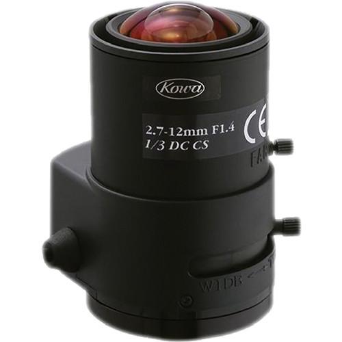 "Kowa LMVZ272A - 1/3"" 2.7 to 12mm Varifocal Auto Iris Lens (DC)"