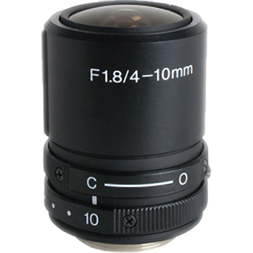 "Kowa LMVZ41 1/2"" Varifocal Manual Iris Lens (4 to 10mm)"