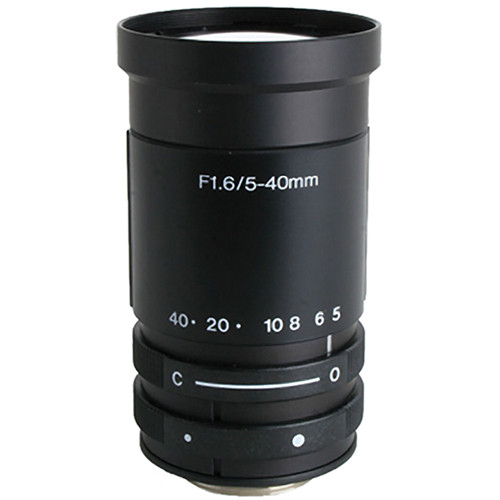 "Kowa LMVZ540 1/3"" Varifocal Manual Iris Lens (5 to 40mm)"