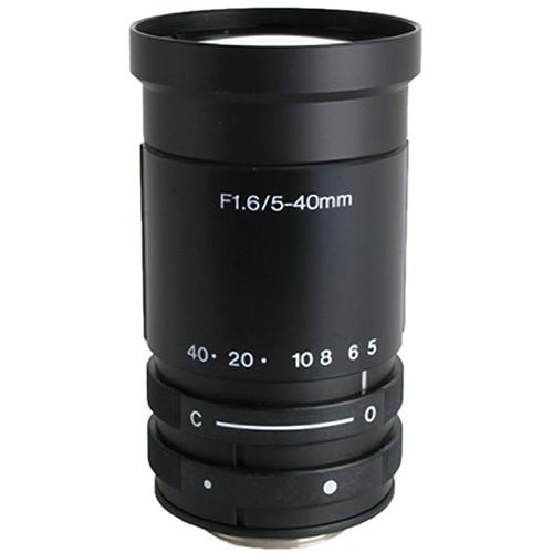 "Kowa LMVZ540 1/3"" Varifocal Manual Iris Lens (5 to 40mm)"