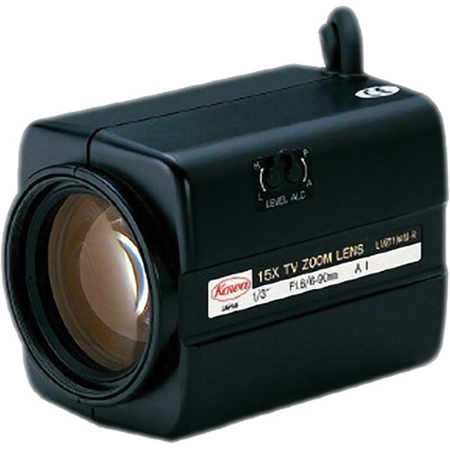 "Kowa LMZ110AM 1/3"" Video Auto-Iris Zoom Lens (6 to 90mm)"