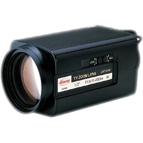"Kowa LMZ112AMPOR 1/2"" Manual Override Iris 18x Zoom Lens with Preset (11-200mm)"