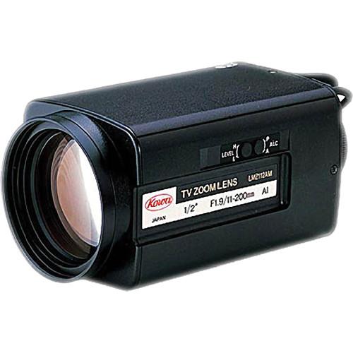"Kowa LMZ112AMP 1/2"" Video Auto Iris 18x Zoom Lens with Preset (11-200mm)"
