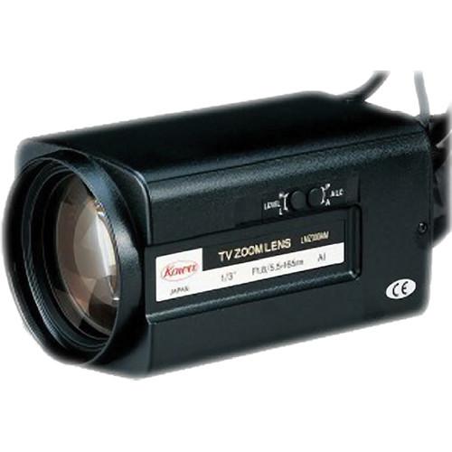 "Kowa LMZ300AMOR 1/3"" Zoom Manual Override Iris Lens (5.5 to 165mm)"