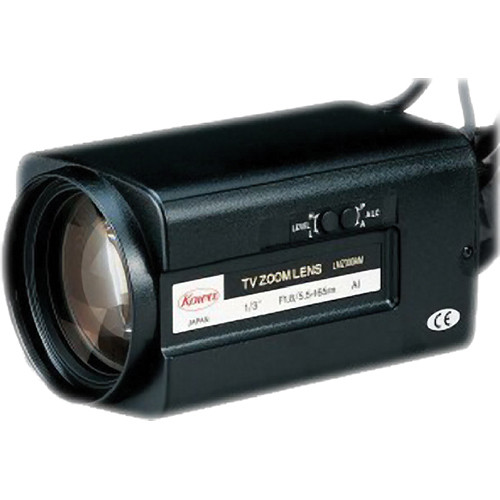 "Kowa LMZ300AM 1/3"" Zoom Video Auto Iris Lens (5.5 to 165mm)"