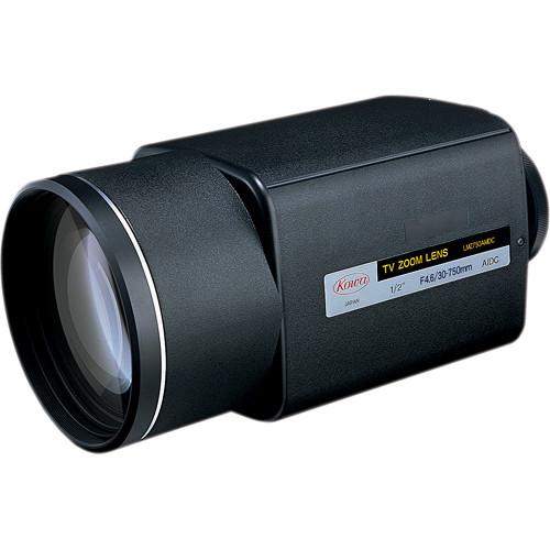 "Kowa LMZ750AMDC-XD 1/2"" Varifocal Auto-Iris Zoom Lens (30 to 750mm)"