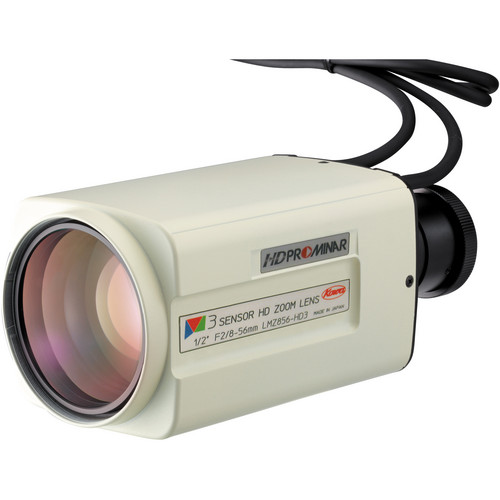 "Kowa LMZ856-HD3 HDTV 1/2"" 3CCD/CMOS Zoom Lens (8 to 56 mm)"