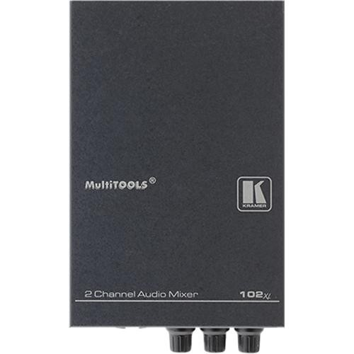 Kramer 102XL 2-Channel Balanced Mono Audio Mixer