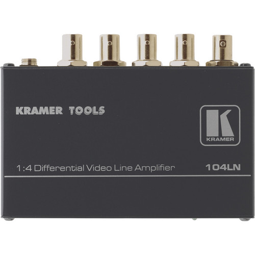 Kramer 104LN 1x4 Composite Video Line Amplifier
