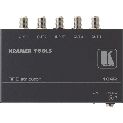 Kramer 104R 1x4 RF Distribution Amplifier