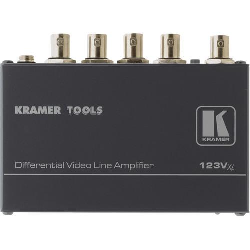 Kramer 123VXL 1x3 Differential Video Line Amplifier