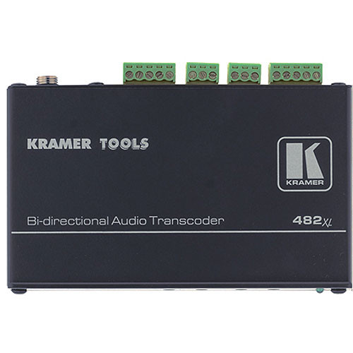 Kramer 482XL Balanced/Unbalanced Stereo Audio Transcoder