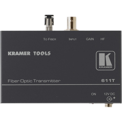 Kramer 611T Composite Video Fiber Optical Transmitter