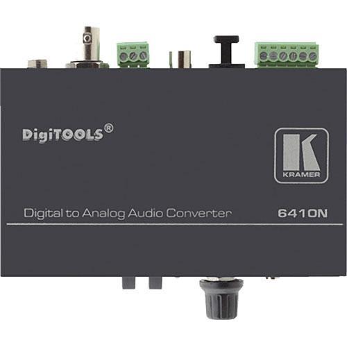 Kramer 6410N Digital Audio to Balanced Stereo Audio Format Converter