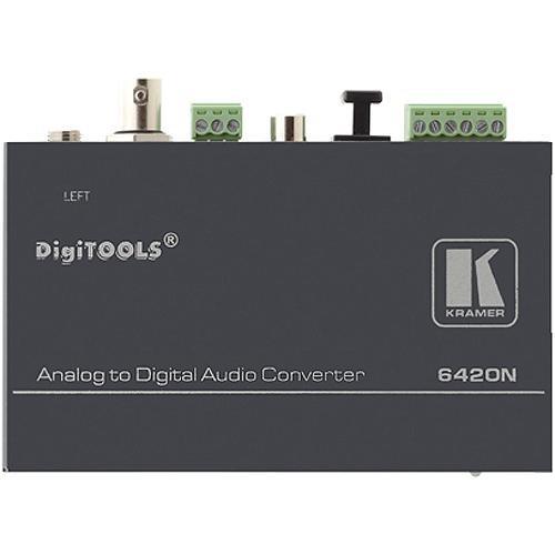 Kramer 6420N Balanced Stereo-Audio to Digital-Audio Format Converter