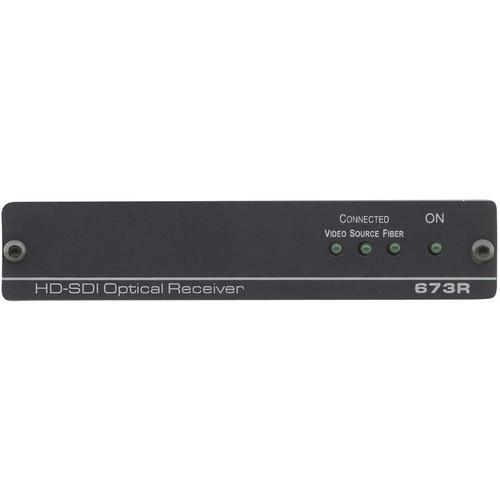 Kramer 673R/T 4-Channel 3G HD-SDI over Single Fiber Optic Transmitter & Receiver