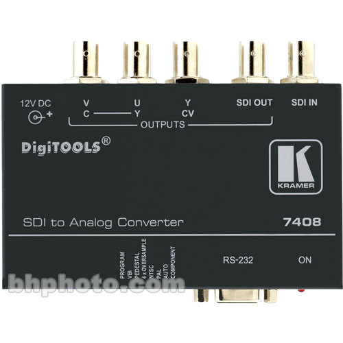 Kramer 7408 SDI to Analog Converter
