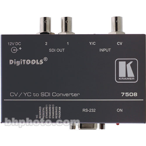 Kramer 7508 Analog to SDI Converter