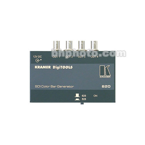 Kramer 820 SDI Color Bar Generator