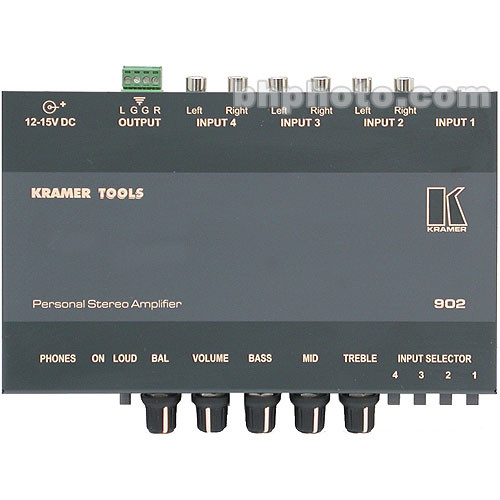 Kramer 902 Personal Stereo Audio Amplifier