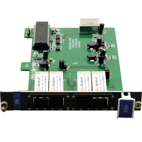 Kramer F610-IN2-F16 2-Input DVI over 4 LC Fiber Card