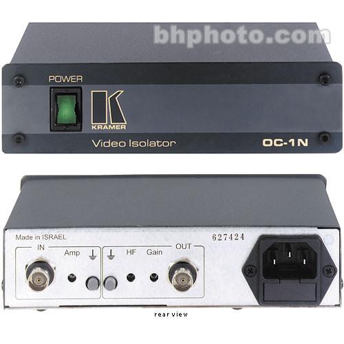 Kramer OOC-1N Composite Video Optical Line Isolator - 120 VAC, BNC