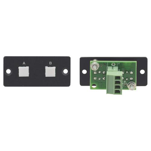 Kramer 2-Button Contact Closure Switch (Black)
