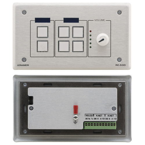 Kramer K-NET Auxiliary Control Panel