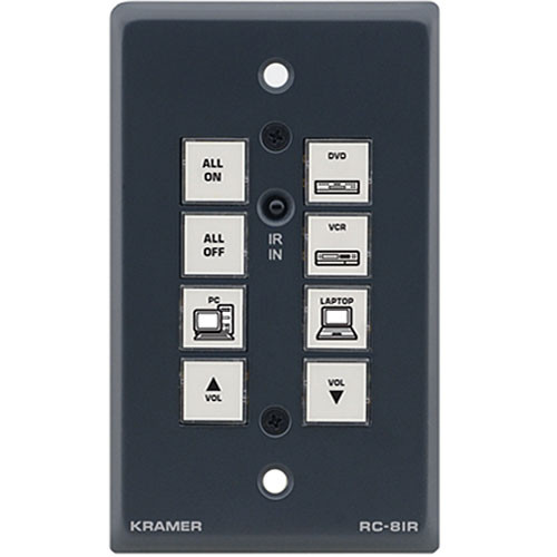 Kramer RC-8IR Multimedia Room Controller