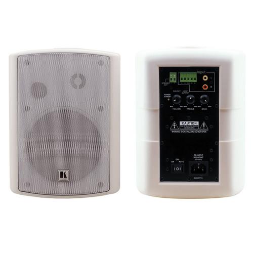 Kramer Electronics TAVOR 5-O(PAIR)/WHITE Vivolink Active Speaker Set, White. SPEAKERS