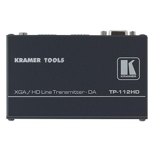 Kramer TP-112HD 1:2 Computer Graphics Video & HDTV over Twisted Pair Transmitter